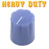 Light Purple Davies 1900 clone knob - Heavy Duty - Brass Insert