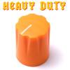 Orange Davies 1900 clone knob - Heavy Duty - Brass Insert