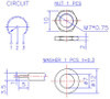 datasheet for right angle pcb potentiometers