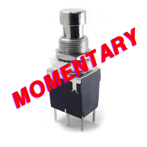 DPDT Momentary Foot Switch - PCB Mount
