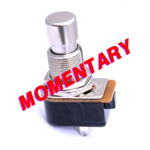 SPST Momentary Foot Switch - Normally Closed - Vampire Fangs