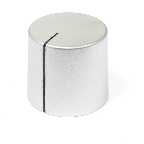 Silver Kilo International aluminum knob SF-90-CR-7