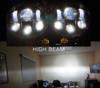 Dual LED Headlight for Harley Road Glide Black