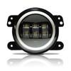 7 Inch HALO RGB Color Projector LED Headlights & Fog Lights Kit for Wrangler JK 2007-2017