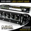 LED Light Bar Curved 288W 50 Inches Bracket Wiring Harness Kit for Ford F150 /  SVT Raptor 2010-2014