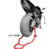 Motorcycle Bike Stand Forklift Spoolift Paddock Swingarm Lift Rear Red