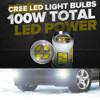 PSX26W 12278 H28W 100W LED Fog Lamp Bulbs (2 Pack)