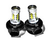 80W LED For Polaris 4030059 Headlight Bulbs (2 Pack)