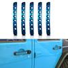 Blue Door Handle Inserts Aluminum 5pcs for 2007-2018 Jeep Wrangler JK 4 Door