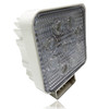 27W Flood Square LED Work Lights White Housing