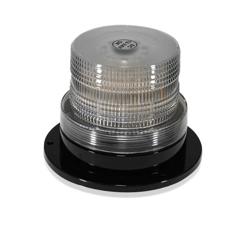 White LED Emergency Flash Strobe and Rotating Beacon Warning Light