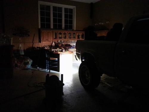 20W Bumper Bar Duely Flood POD LED Light White