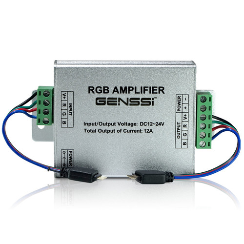 RGB LED Strip Amplifier Repeater