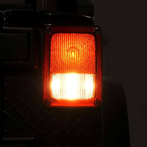 Smoked LED Tail Lights for Wrangler JK 2007-2017