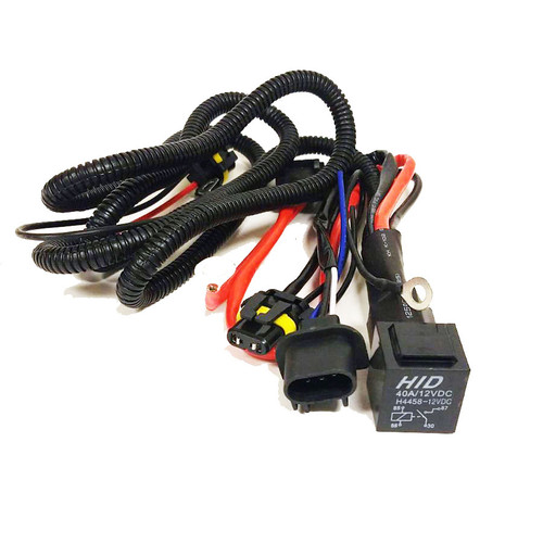 HID Xenon Wire Relay Harness H13 9008