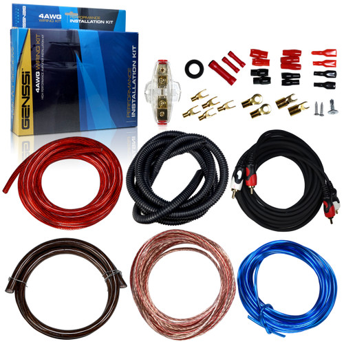 4AWG Car Audio Installation Wiring Kit 4 Gauge
