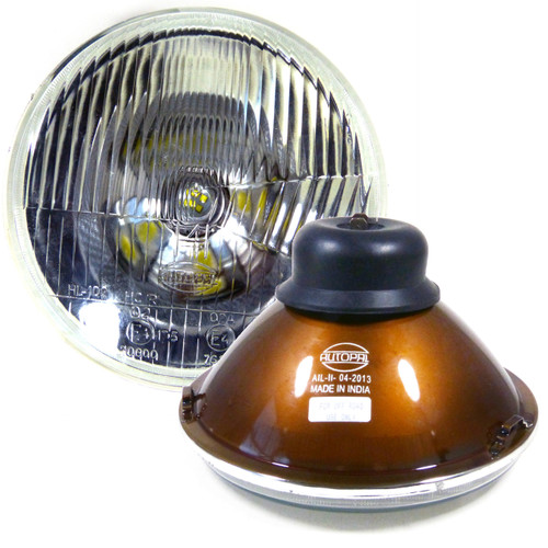 7 Inch Reflector Glass Sealed-Beam Headlights Set