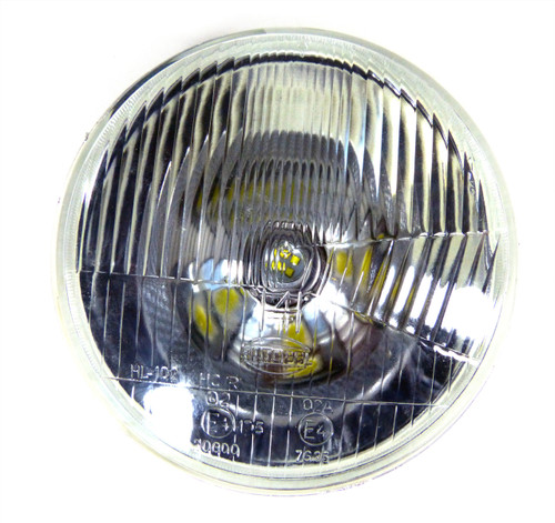 7 Inch Reflector Glass Sealed-Beam Motorcycle Headlights Set