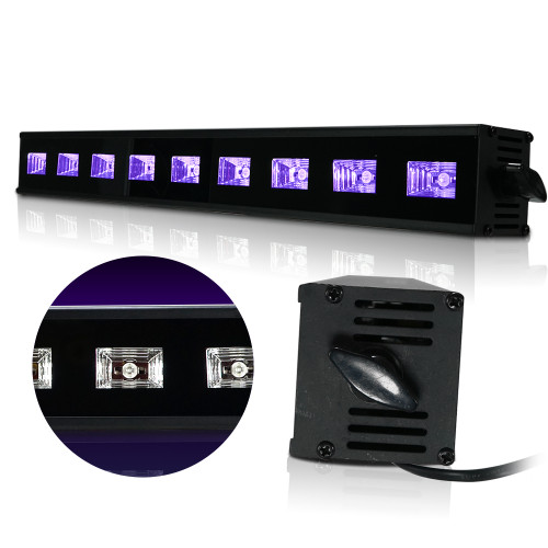 LED UV DJ Light Bar Blacklight 20 Inches