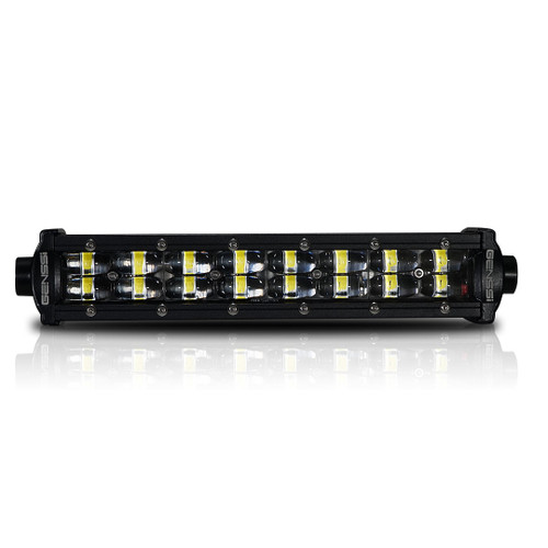48W 8 Inches Black Spot/Flood Combo LED Light Bar