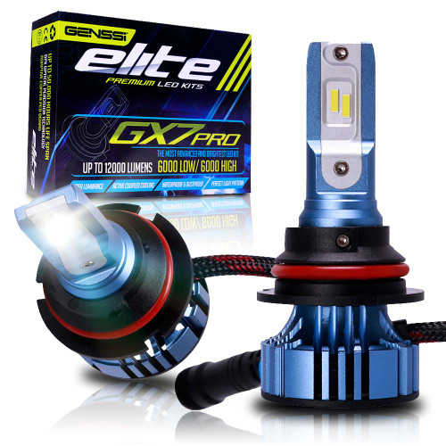 GX7 Pro LED Headlight Conversion Kit 6500K Bulbs