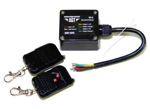 2 Channel Wireless On Off 12V Controller Waterproof