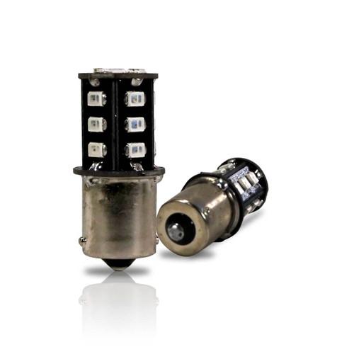 1156 LED Bulb with Brake Light Flasher Flashing Pattern (2 Pack)