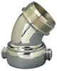 90º Chromed Brass Angle And Suction Elbow