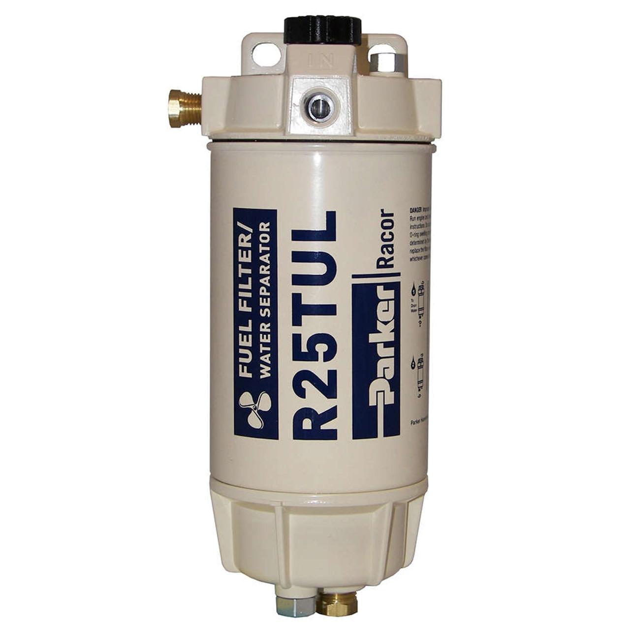 Racor 1/4 in. 45 GPH Aquabloc Marine Spin-On Type Diesel Fuel