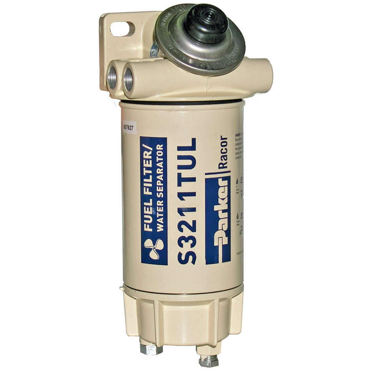 Fuel Filter Water Separator 6 2 Diesel Inline Alliance Racor Aquabloc Marine 3 8 In 60 Gph Spin On