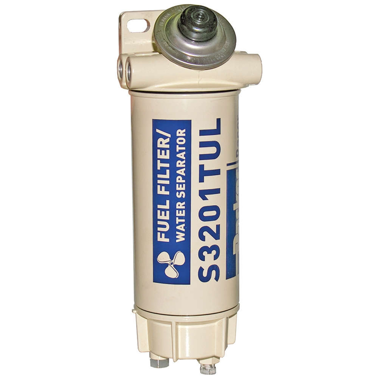 Diesel Fuel Water Separator Filter Alliance Racor Aquabloc Marine 3 8 In 90 Gph Spin On Replace A