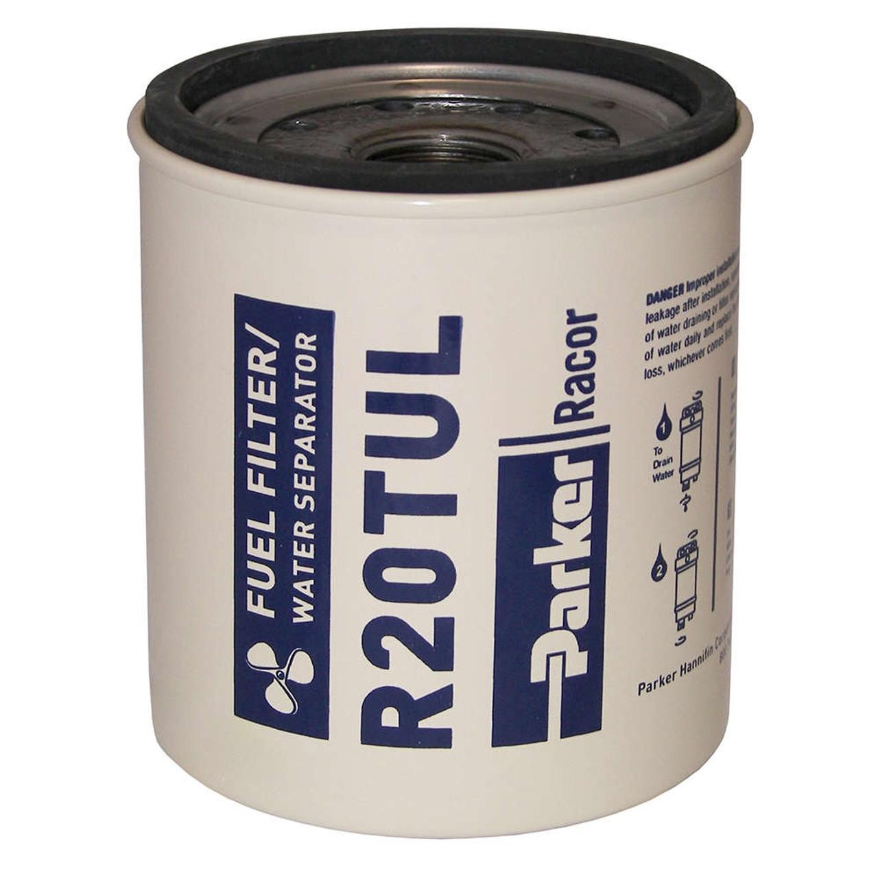 Racor 320 Engine Spin On Series Fuel Filter Water Separator R20tul Diesel 12