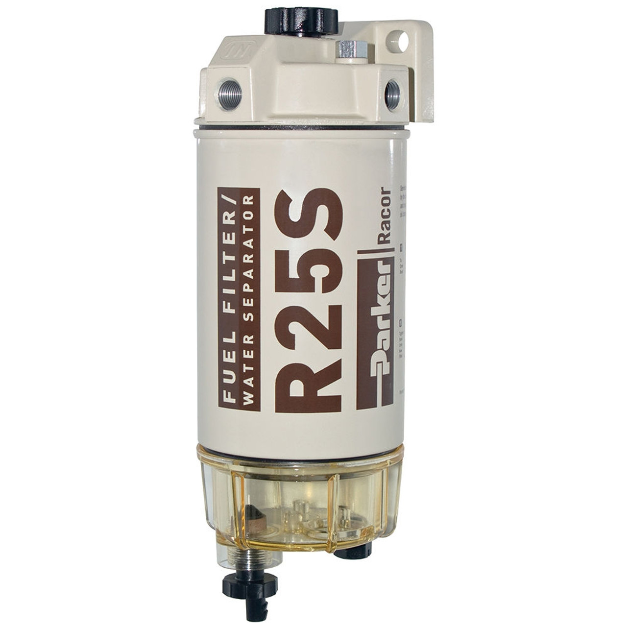 Racor 200 Series 45 GPH Low Flow Diesel Fuel Filter/Water Separator 245  Filter Assembly
