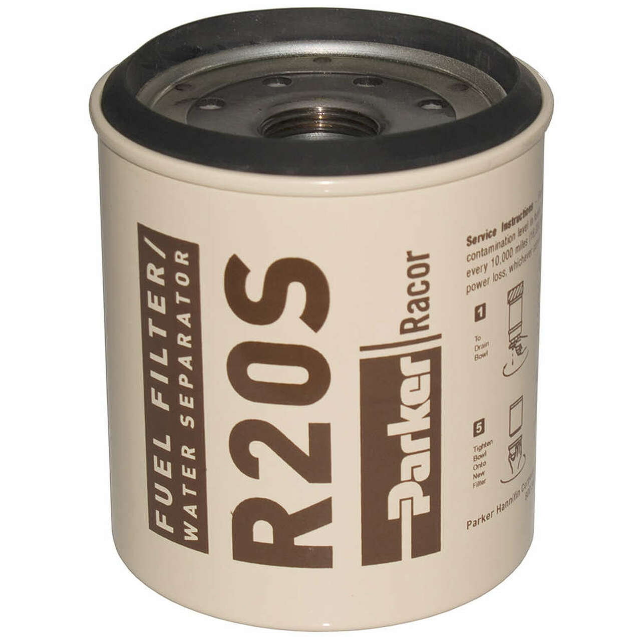 Racor 200 Series Low Flow Diesel Replacement R20S Element - 2 Micron
