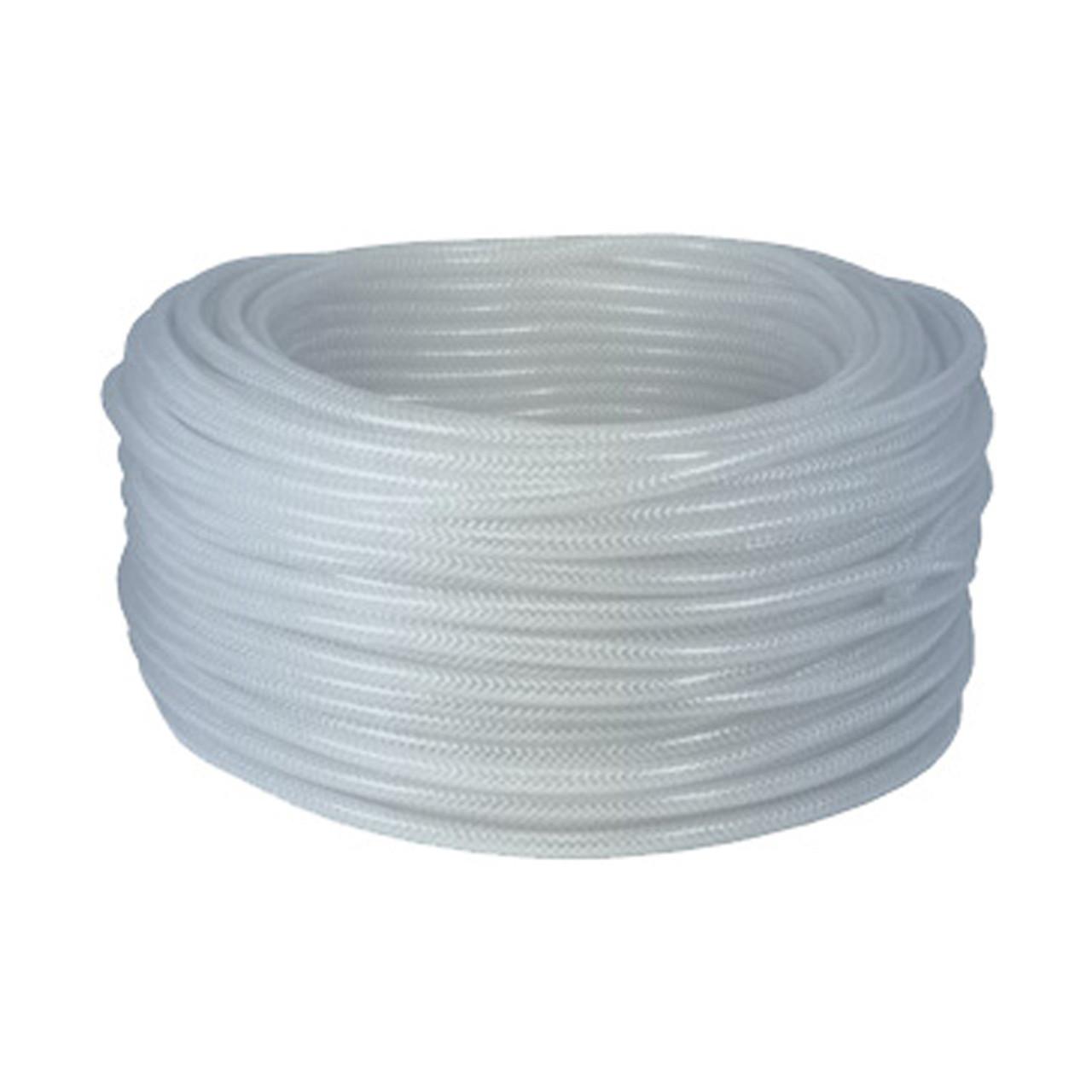 Dixon 3/8 in. ID x 5/8 in. OD Domestic Clear Braided PVC Tubing, 265 ...