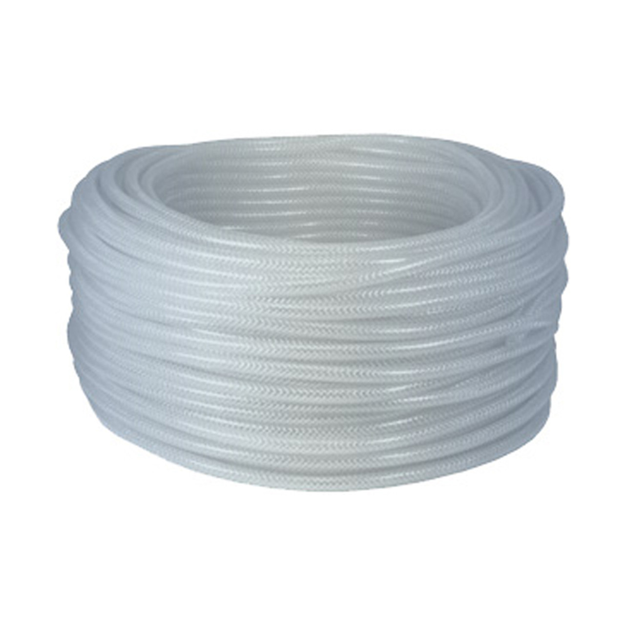 Dixon 3/8 in. ID x 5/8 in. OD Imported Clear Braided PVC Tubing, 114 ...