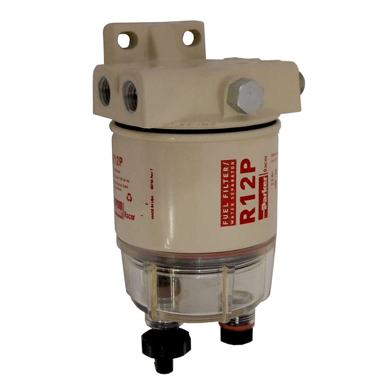 Racor 120a Low Flow Fuel Filter Water Separator Assembly 30 Micron