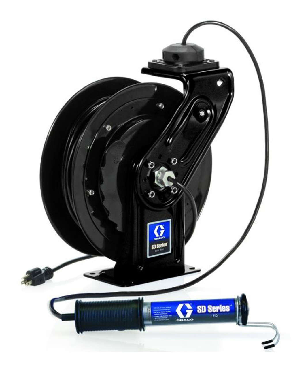 Led Light Cord Reel Retractable Extension W Tritap And Circuit Breaker Prolite Graco Series Awg John Ellsworth Co Inc 900x1078