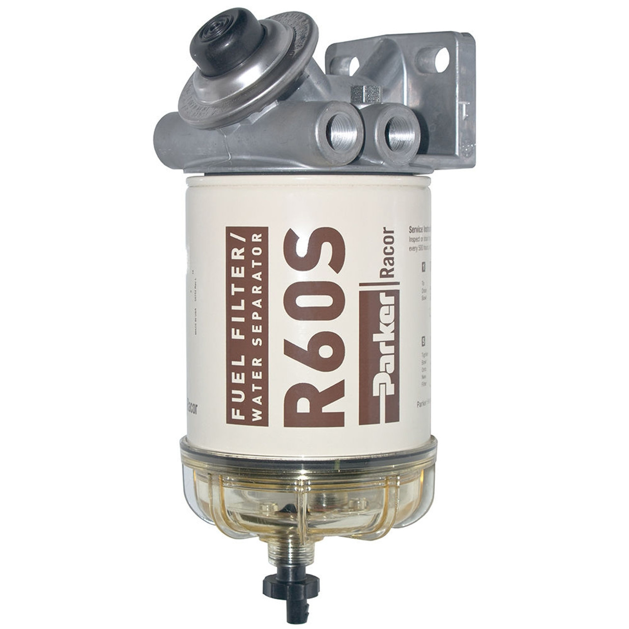 Racor 400 Series 60 Gph Diesel Spin On Fuel Filter 2 Micron John Vehicle