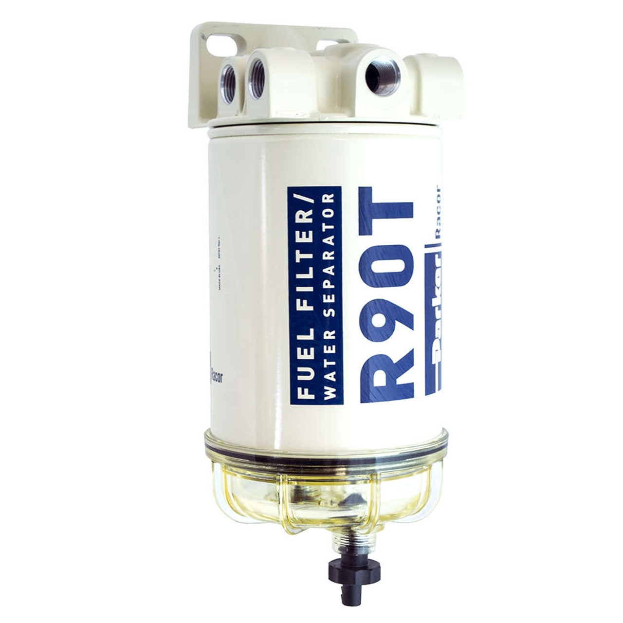Racor 600 Series 90 Gph Diesel Spin On Fuel Filters 10 Micron 6 Auto