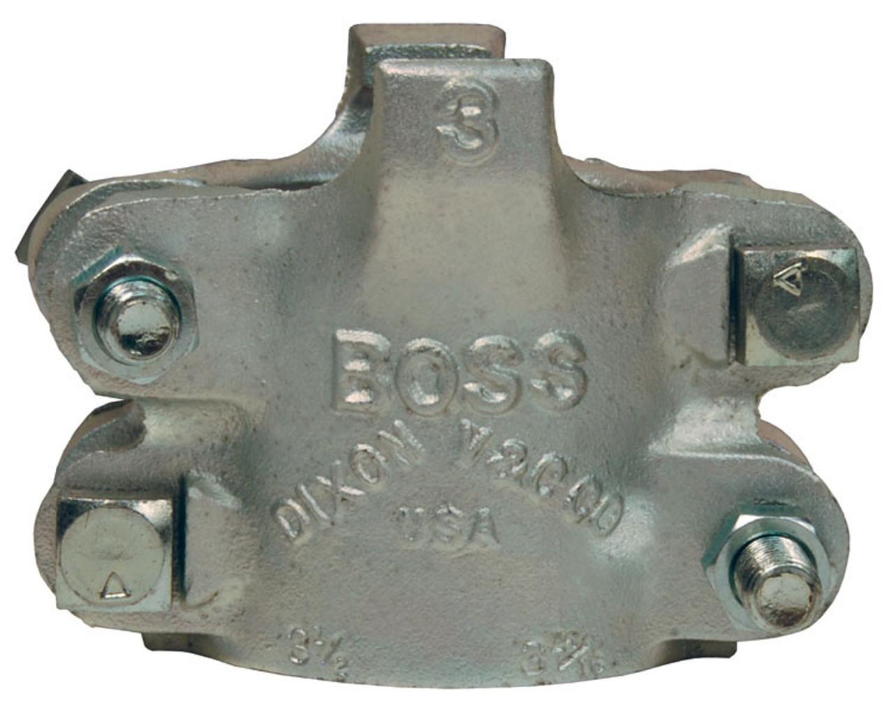 Dixon Boss Cl&s Zinc Plated Iron 4-Bolt Type 2 Gripping Fingers - John M. Ellsworth Co. Inc.  sc 1 st  John M. Ellsworth & Dixon Boss Clamps Zinc Plated Iron 4-Bolt Type 2 Gripping Fingers ...