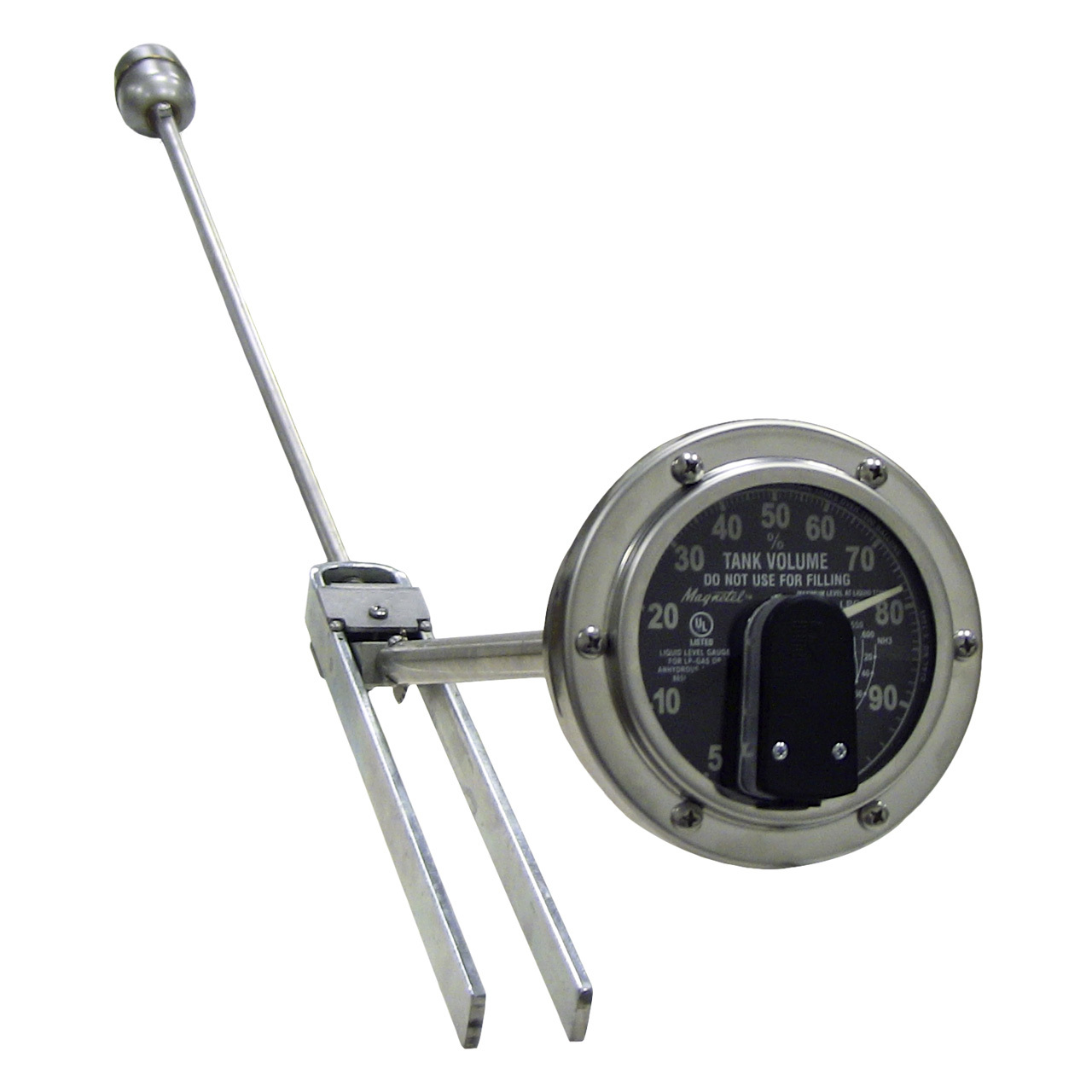 Liquid Level Gauges For Tanks Tank Gauge Morrison Bros Switches Information Engineering360 Rochester M6300 Series 4 In Magnetel Rough Rider