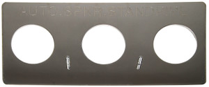 Dixon Powhatan Polished Chrome Plated Auto-Sprinkler  Wall Plate For Concealed (Flush) Fire Department Connections