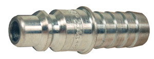 Dixon Air Chief 1/4 in. Steel Industrial Quick-Connect Standard Hose Barb Plug - 3/8 in. Body Size