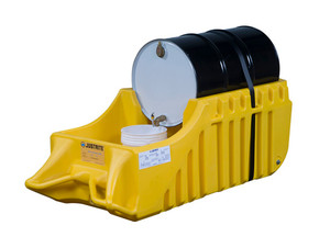 Justrite EcoPolyBlend Spill Containment Caddy - Yellow
