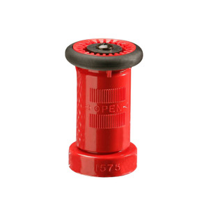 United Fire Safety 1 1/2 in. NY (FD) Combination Stream Fog Shut-Off Nozzle