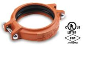 Smith Cooper 2 1/2 in. Lightweight Rigid Coupling w/ Triple Seal Gasket