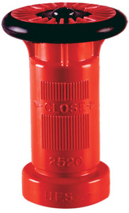 United Fire Safety 2 in. NPSH Industrial Hose Nozzle