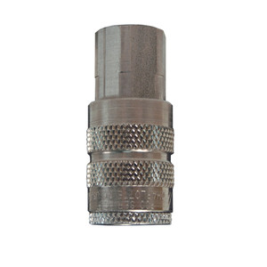 Dixon Air Chief Stainless Industrial Quick-Connect Coupler 1/4 in. Female NPT x 1/4 in. Body