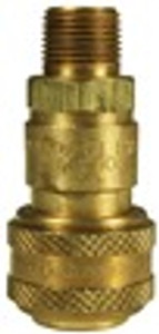Dixon Air Chief Brass Industrial Auto Coupler 3/4 in. Male NPT x 3/4 in. Body Size